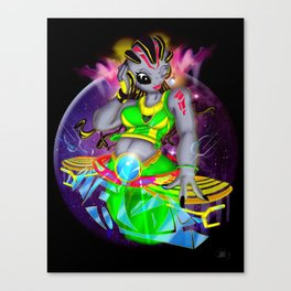 Universal Frequencies Canvas Print