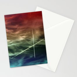 2 Planes in the Sky - Munich Stationery Cards