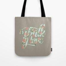 Walk in love Floral Tote Bag