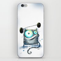 fitness iPhone & iPod Skins featuring fitness by Katja Main