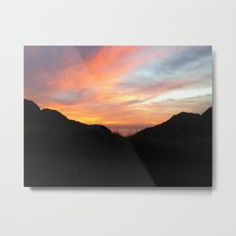 Sunset Soul Metal Print