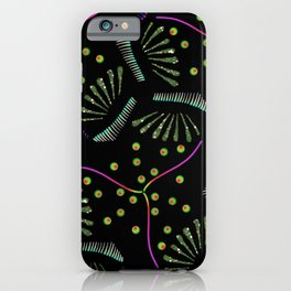 Abstract Botannical iPhone Case