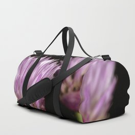 Purple clove flowers Duffle Bag