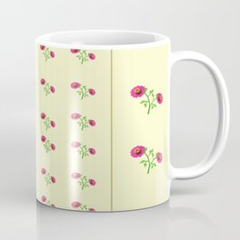stand in line flowers Coffee Mug