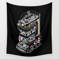 koala Wall Tapestries featuring Koala Bus by Heiko Windisch