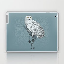 Secrets of the Snowy Owl Laptop & iPad Skin