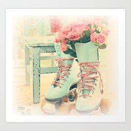 pretty skates Art Print