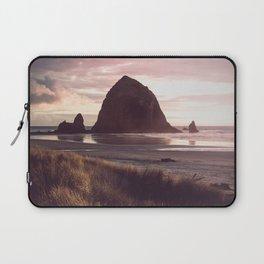 Cannon Beach Sunset Laptop Sleeve