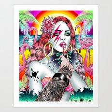 BowieLana Art Print