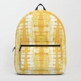 Shibori Itajime Table Yellow Backpack