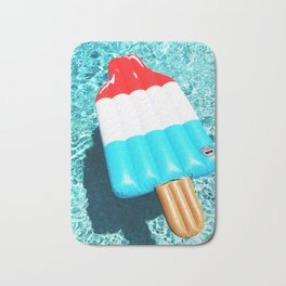 Bomb Pop Float all up in my Pool Bath Mat