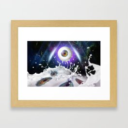 They are watching us! Framed Art Print