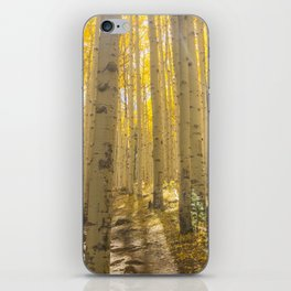 Good Vibes in The Forest iPhone Skin