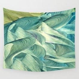 Blue Men Wall Tapestry