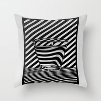 tequila Throw Pillows featuring Trippin' Tequila by Ana Lillith Bar