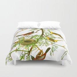 Orchard Oriole Bird Duvet Cover