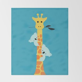 I'll be your tree Throw Blanket