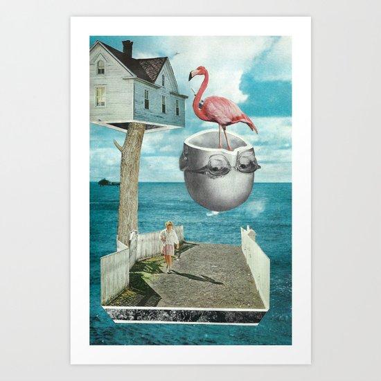 Magic Treehouse Art Print