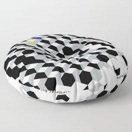 Functional emotional Floor Pillow
