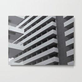 urban geometry Metal Print