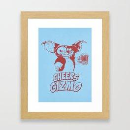 Cheers Gizmo Framed Art Print