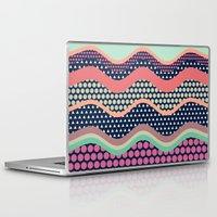 yetiland Laptop & iPad Skins featuring Patternwork XII by Metron