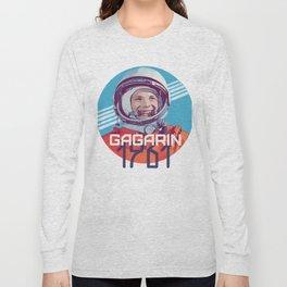 Yuri Gagarin first man in space Long Sleeve T-shirt