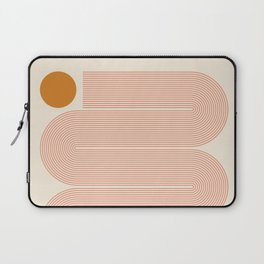 Abstraction_SUN_LINE_ART_Minimalism_002 Laptop Sleeve