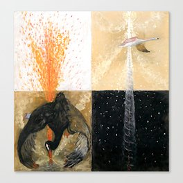 "Hilma af Klint ""The Swan, No. 05, Group IX-SUW"" Canvas Print"