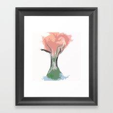 Tree of Autumn Framed Art Print