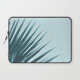 Blue Palm Leaf Laptop Sleeve