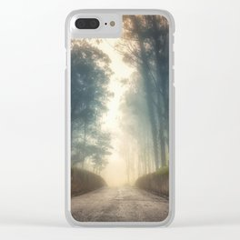 Into the Past Clear iPhone Case