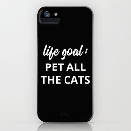 The Cat Lover II iPhone Case