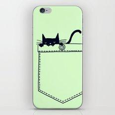 Po(CAT) iPhone & iPod Skin