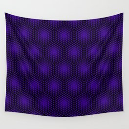 Fading Ultraviolet Wall Tapestry