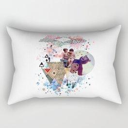 eramos niños Rectangular Pillow