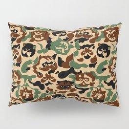 Cat Camouflage Pillow Sham
