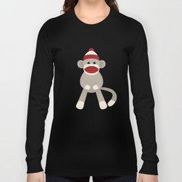 Sock Monkey Long Sleeve T-shirt