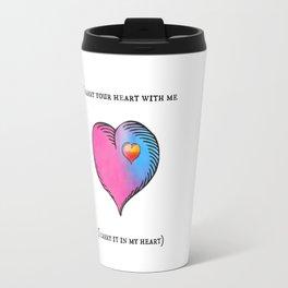 e. e. cummings Travel Mug