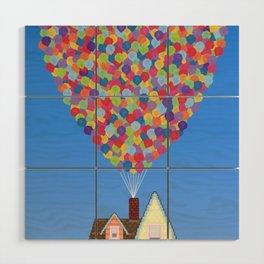 Balloons Wood Wall Art