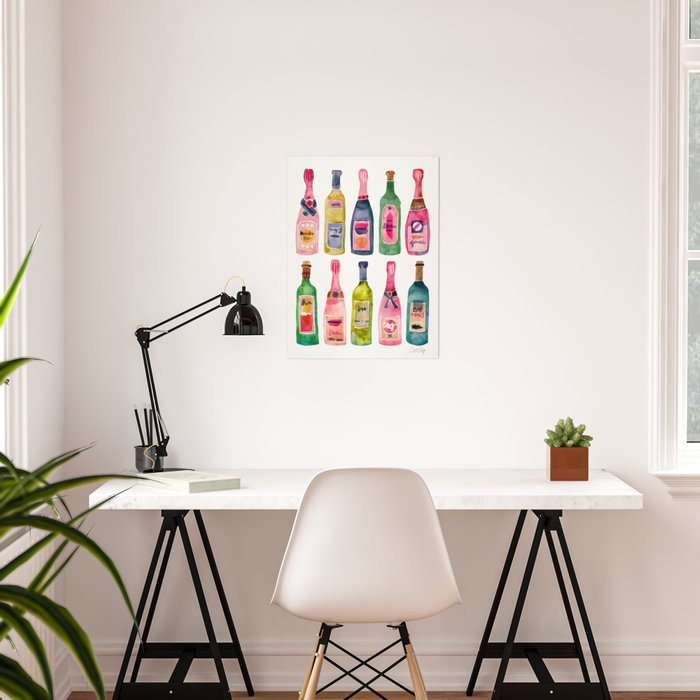 Champagne Collection Poster