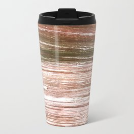 Light taupe abstract watercolor background Travel Mug