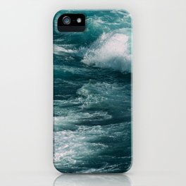 waves #society6 #decor #buyart iPhone Case
