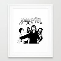 pierce the veil Framed Art Prints featuring Pierce The Veil best gift by customgift