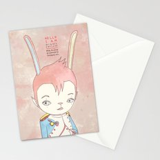 PAULPOLEON BONAPARTE PIERROT VIII Stationery Cards