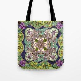 Intricate Garden Tote Bag