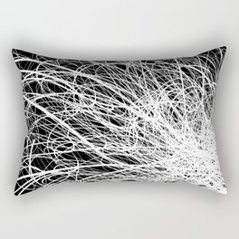 Linear Explosion Rectangular Pillow