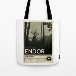 Forest Moon of Endor Tote Bag