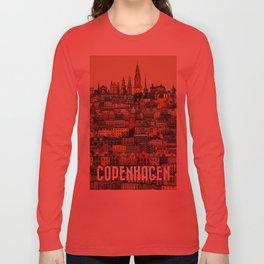 Copenhagen Facades Long Sleeve T-shirt