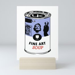 Fine Art Soup Mini Art Print